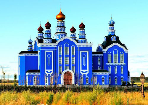 今年秋天木门厂家金马首在俄罗斯收获果实
