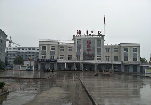 山东赵官锦川社区木门项目