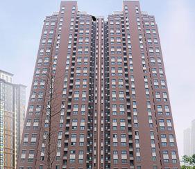 济南中铁汉裕人才公寓免漆门项目